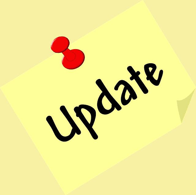 Update post-it note