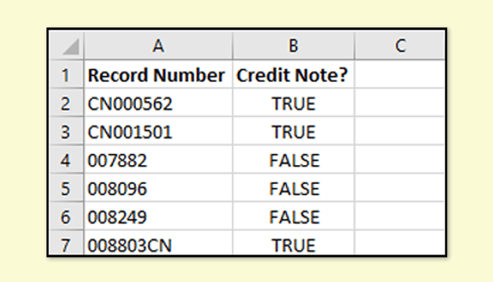 An Excel function to check if a cell contains some text