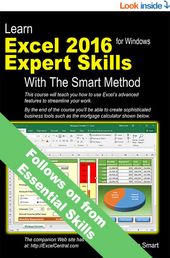 Microsoft excel tutorial download our free 130 page e book and after the essential skills course youll be really really good with excel fandeluxe Choice Image