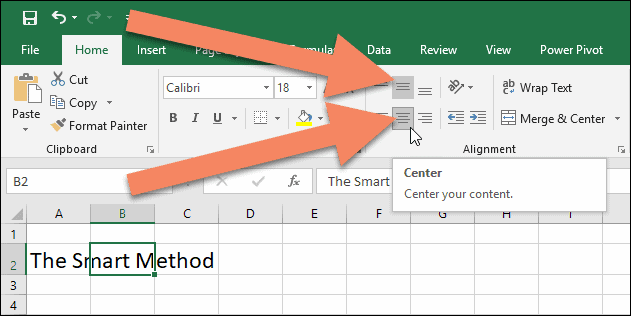 Changing cell padding in Excel -