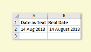 Why won't format change for a date