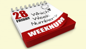 An Excel formula to get the week of the month
