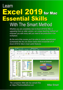 Learn Excel 2019 for Mac Essential Skills with The Smart Method - sample files