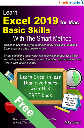 learn excel free for mac