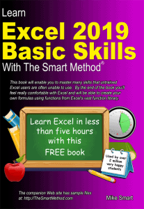 Learn Excel 2019 Basic Skills with The Smart Method - FREE e-book