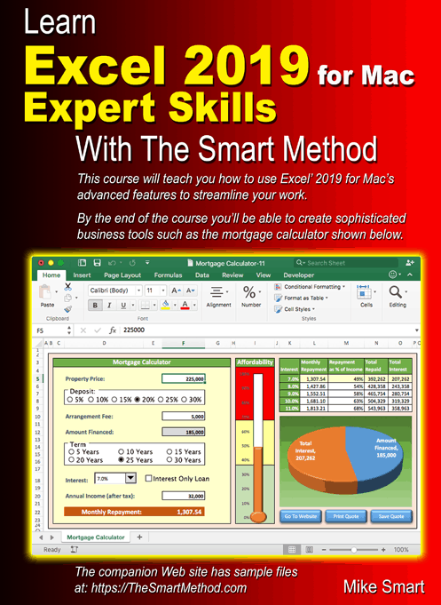 learn excel 2010 essential skills with the smart method ebook