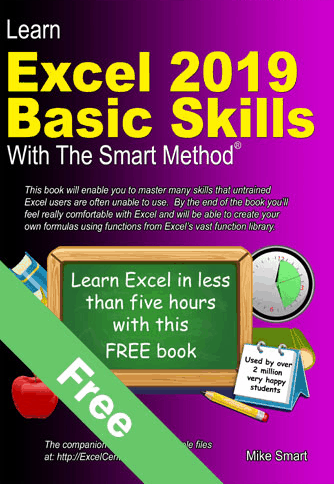 Excel 2019 Basic Skills Free Tutorial -
