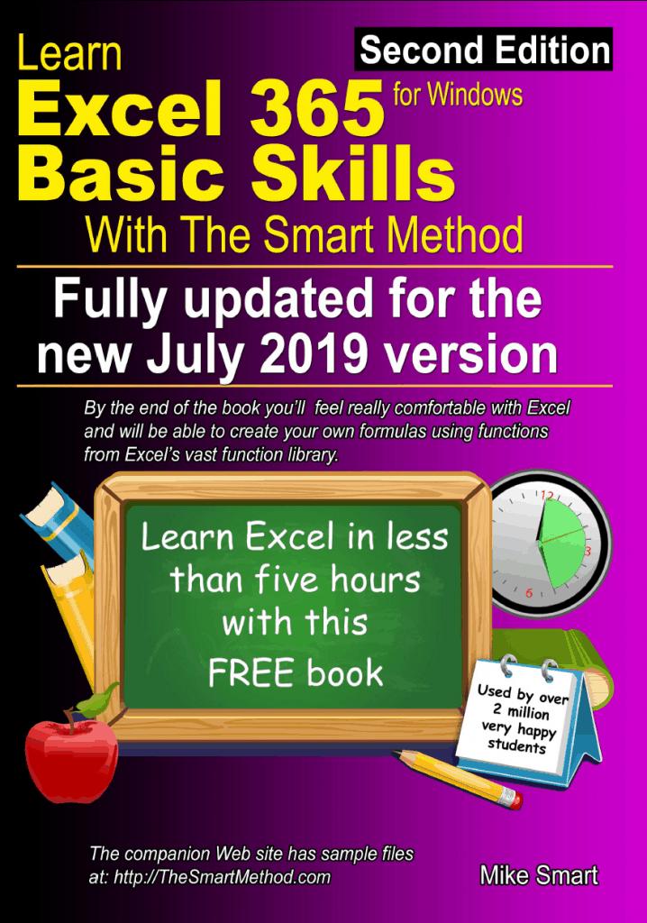 Excel 365 Basic Skills Free Tutorial -