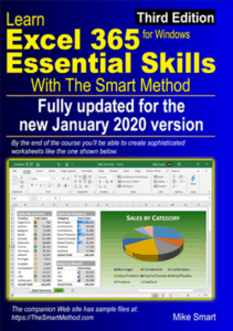 Learn Excel 365 Essential Skills with The Smart Method (third edition(
