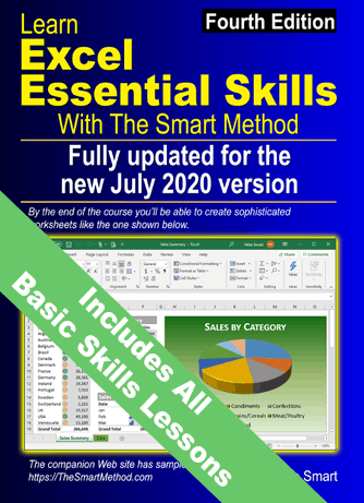 learn-excel-essential-skills-with-the-smart-method-book-cover