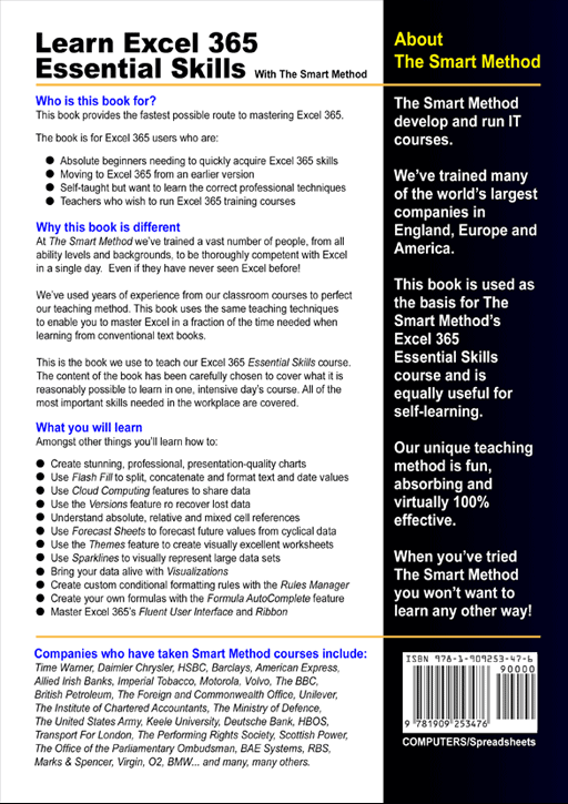 Excel-365-Essential-Skills-fifth-edition-rear-cover