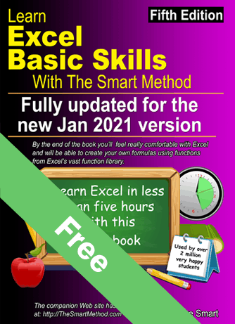 learn-excel-basic-skills-with-the-smart-method-book -cover