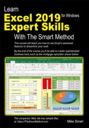 Learn Excel 2019 Expert Skills with The Smart Method (third edition) front cover
