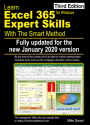 Learn Excel 365 Expert Skills with The Smart Method (third edition) front cover